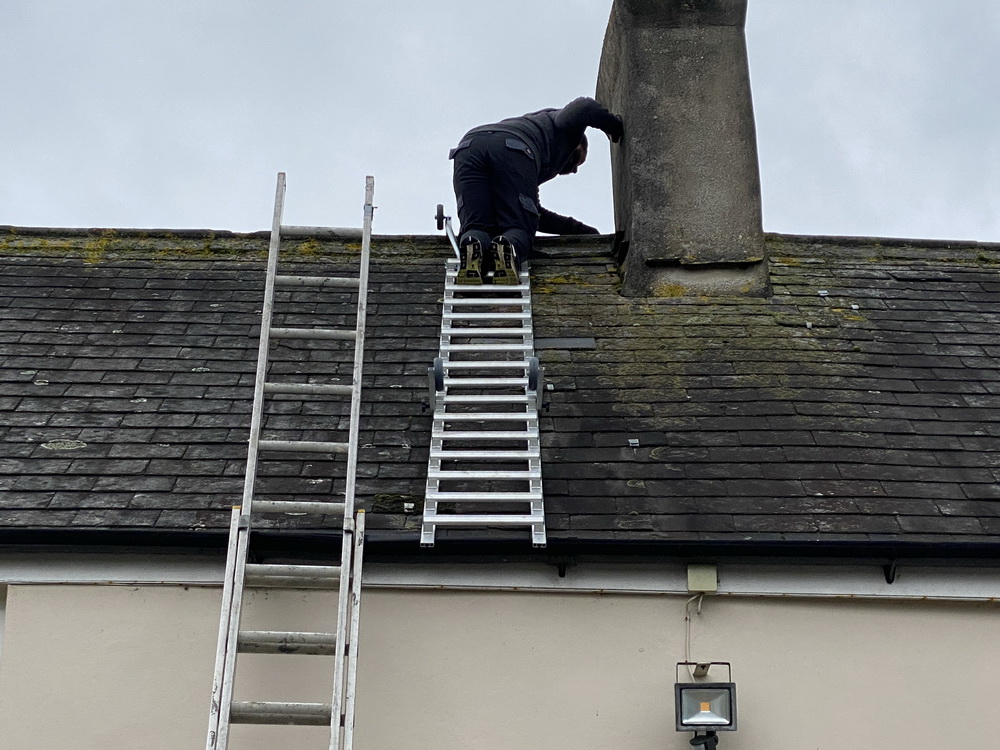 Macc Ladders for slate repairs