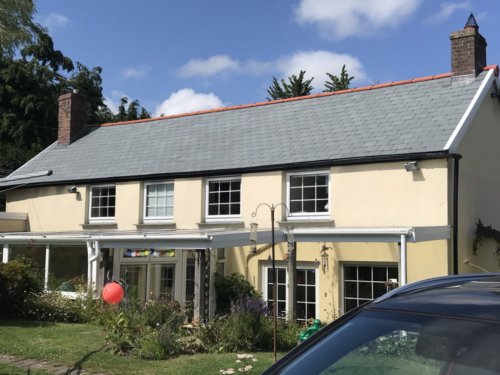 Full roof replacement at West Down