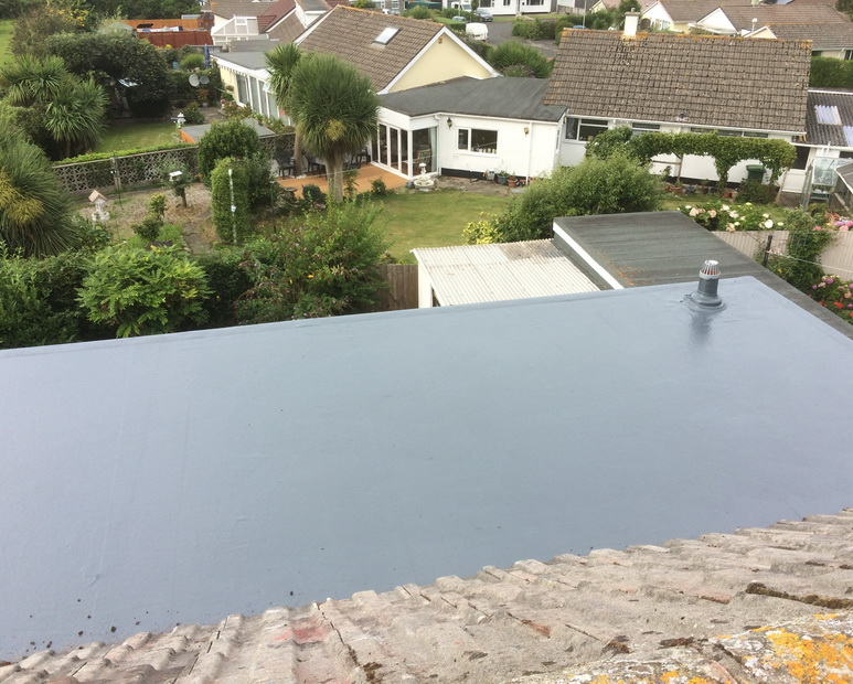 flat roof north devon