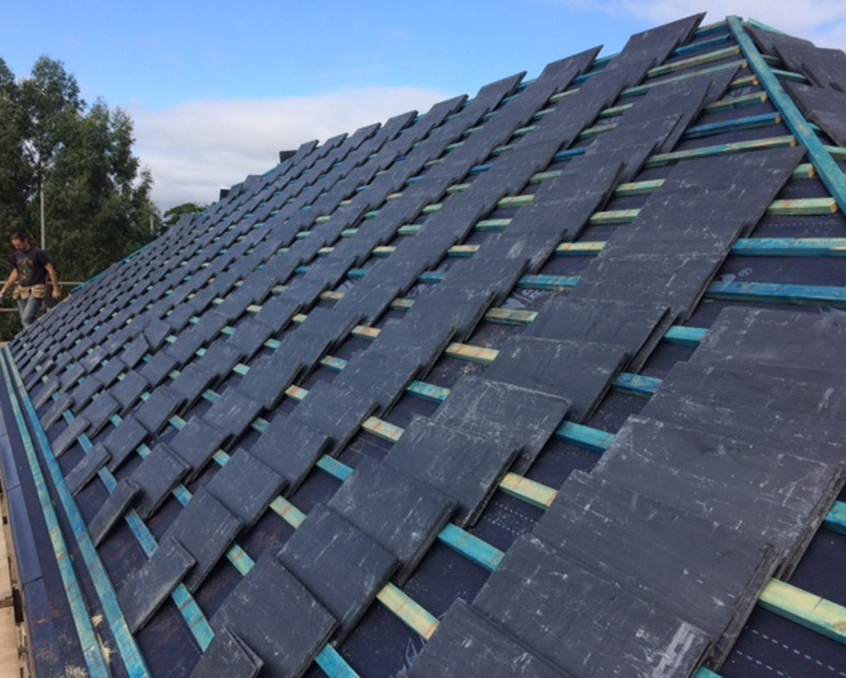 griffin roofing slating north devon